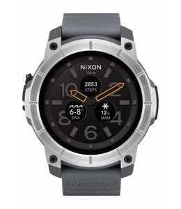 Nixon Mission 48mm Concrete Watch