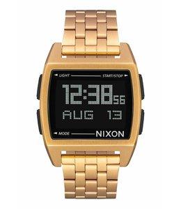 Nixon Base 38mm All Gold Watch
