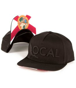 The Local Brand Half Mast Black Snapback Hat