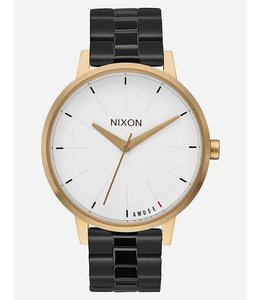 Nixon X Amuse Society Kensington Black Gold Watch