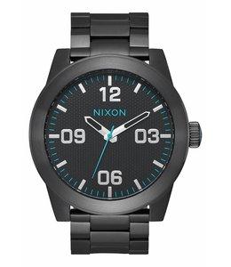 Nixon Corporal SS 48mm All Black Blue