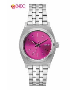 Nixon Small Time Teller Pink Sunray Watch