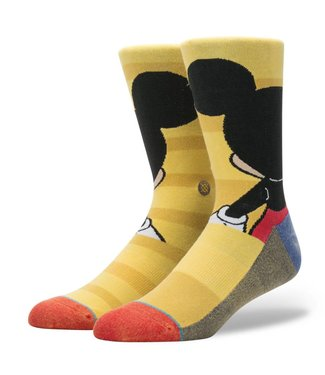 Stance Disney Mickey Yellow Crew Socks