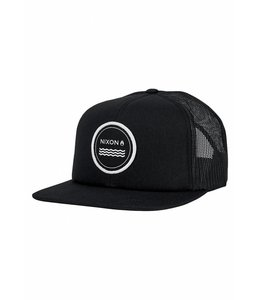 Nixon Vulcan Black Trucker Hat