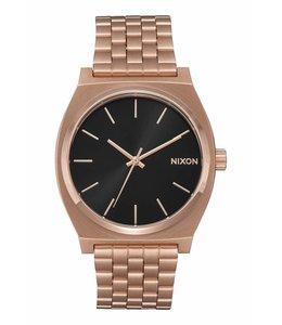 Nixon Time Teller All Rose Gold Black Sunray