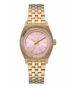 Nixon Small Time Teller Light Gold Pink