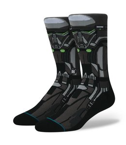 Stance Star Wars Death Trooper Black Crew Socks