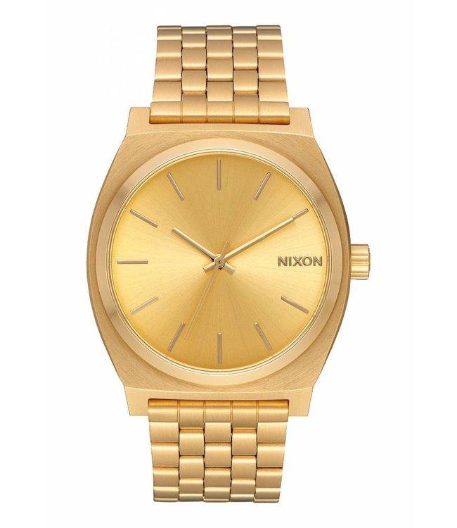 Nixon Time Teller 37mm All Gold