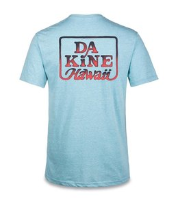 Dakine Classic Brush Tee in Aqua Snow