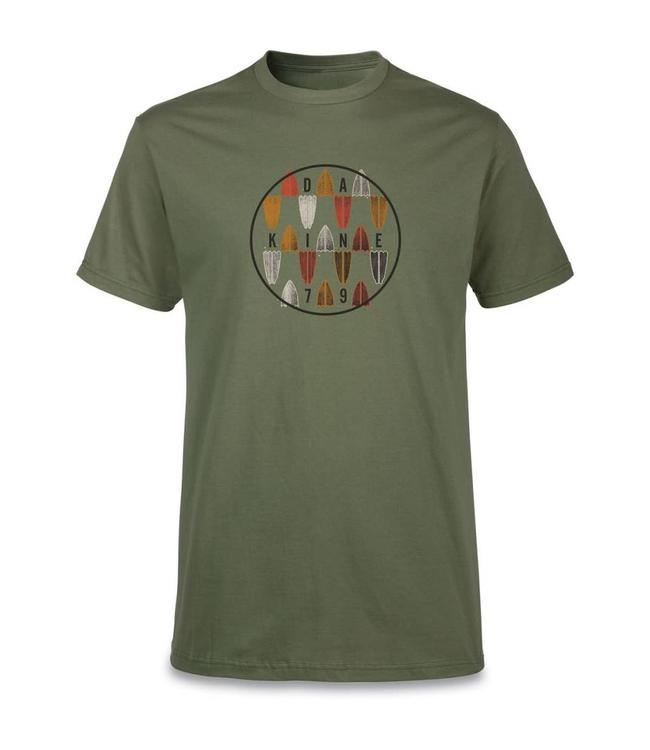 Dakine Focus Tee in Army