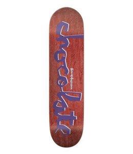 "Chocolate Original Chunk Anderson  8.125"" Skate Deck"