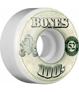 Bones 100's OG 52mm Money Formula Skate Wheels