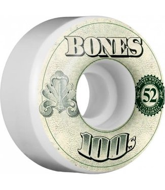 Bones 100's OG 52mm Money Formula Skate Wheels