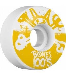 Bones 54mm 100's OG Formula Skateboard Wheels