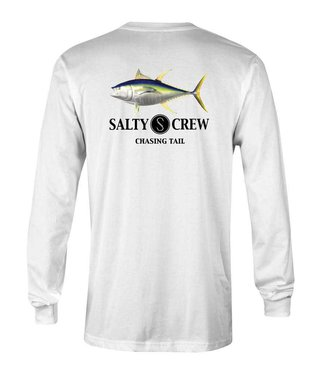 Salty Crew White Ahi Long Sleeve Tee