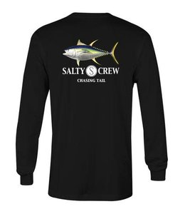 Salty Crew Ahi Black Long Sleeve Tee