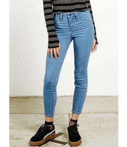 Volcom Liberator Legging Blue Stretch Denim Pants