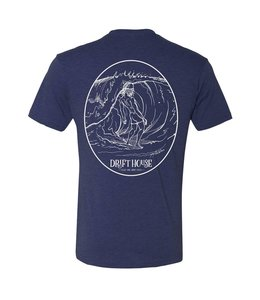 Surf Bum Vintage Navy Short Sleeve Tee