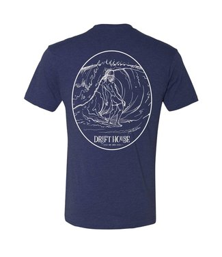 Drift House Surf Bum Vintage Navy Short Sleeve Tee