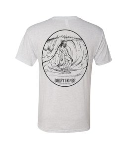Surf Bum Vintage White Short Sleeve Tee
