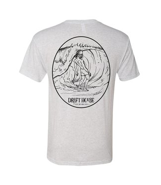 Drift House Surf Bum Vintage White Short Sleeve Tee