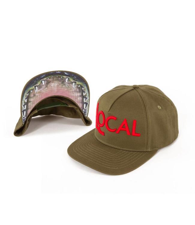 The Local Brand Gator Addicts Snapback Hat O/S