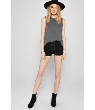 Amuse Society Daisy Chain Black Sands Short
