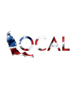 "The Local Brand Premium Local Merica 8"" Decal"