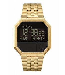 Nixon Re-Run All Gold Watch