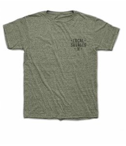 Roark Revival Savage Local Army Green Short Sleeve Tee