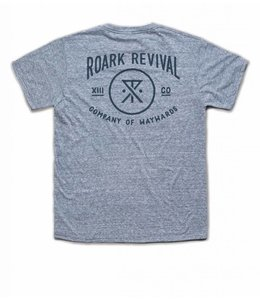 Roark Revival Volume 13 Heather Grey Short Sleeve Tee