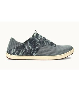 Olukai Nohea Moku Charcoal and Dive Camo Shoes