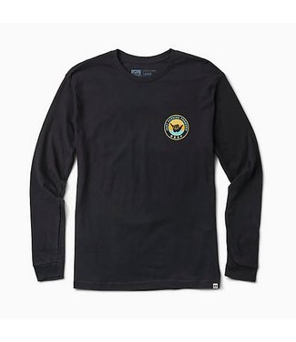 Reef Relax Black Long Sleeve Tee