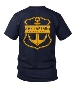 Captain Navy Short Sleeve Tee