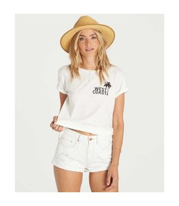 Billabong Just Me White Denim Shorts