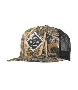 Salty Crew Tippet Grass Blades Trucker Hat