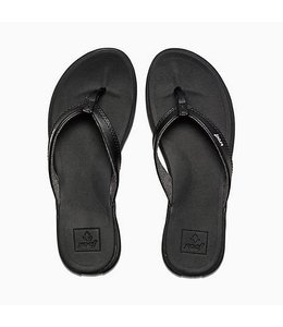 Reef Rover Catch Black Sandals