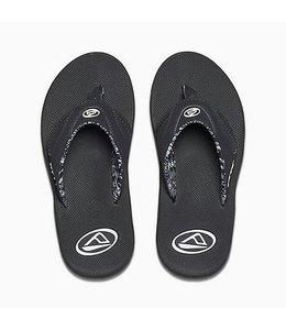 Reef Women's Fanning Black Sandals