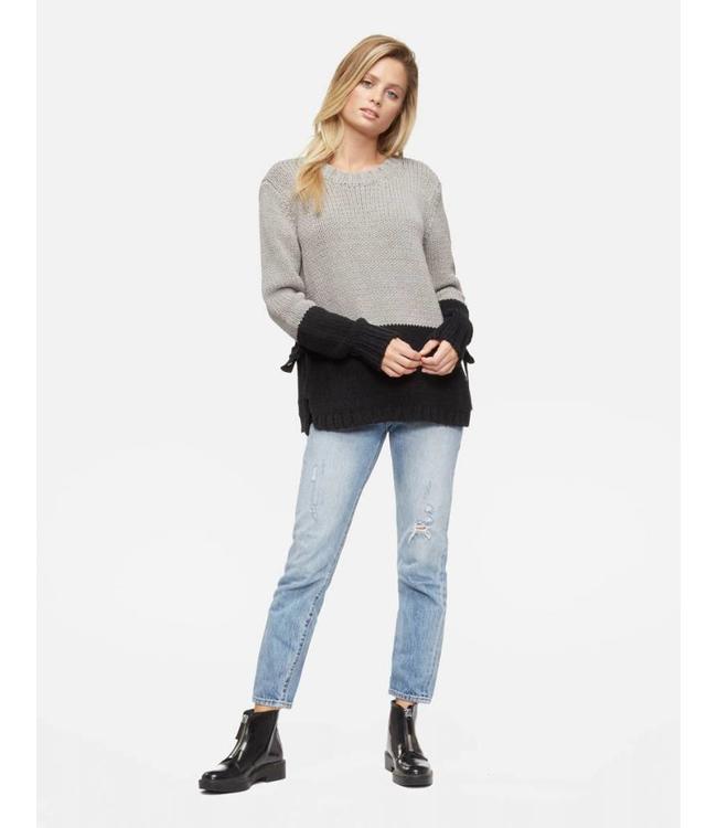 TAVIK Paris Heather Grey & Black Sweater