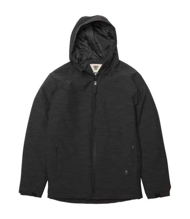 VISSLA North Seas Black Jacket