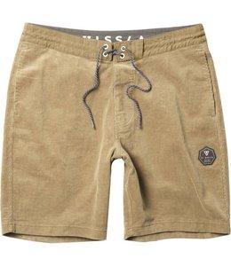 "VISSLA Take It Easy 18.5"" Light Khaki Sofa Surfer Shorts"