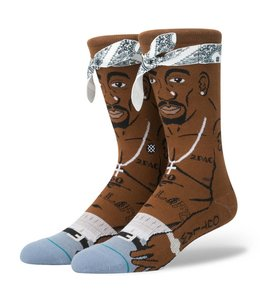 Stance Tupac Brown Crew Socks