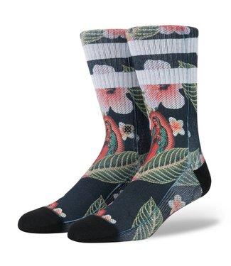 Stance Madre De Aloha Black Crew Socks