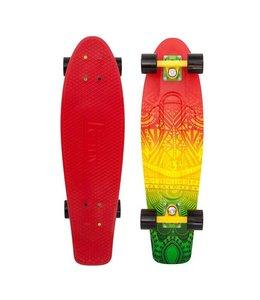 "Nickel Vibes Rasta 27"" Skateboard"