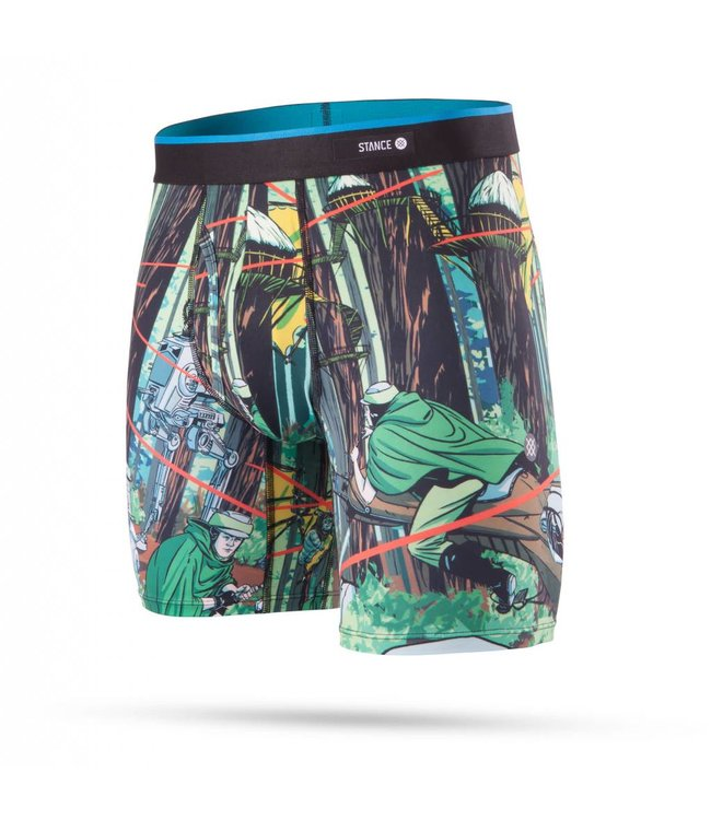 Stance Star Wars Endor Green Boxer Briefs