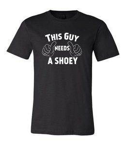 The Mad Hueys This Guy Black Tee