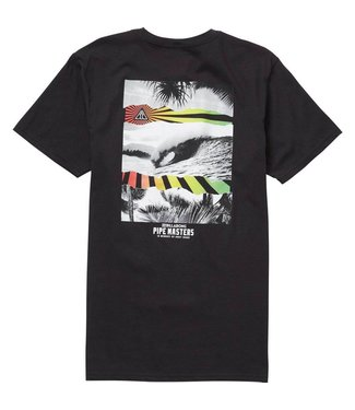 Billabong Pipe Masters Collage Black Tee