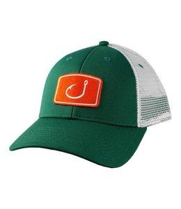 Avid Touchdown Green and White Trucker Hat