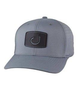 Avid Pro Performance Grey Snapback Hat