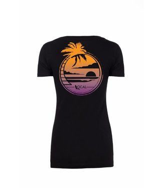 The Local Brand Chill Spot Black Short Sleeve Tee